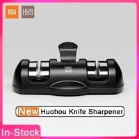2020 New XiaoMi YouPin HUOHOU Sharpen Stone Double Wheel Whetstone Sharpeners K-nife Sharpening Tool Grindstone Kitchen Tools