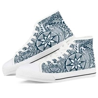 women canvas shoes men fashion polynesian casual sneakers high top women students vulcanize shoes flats 2020 spring and autumn