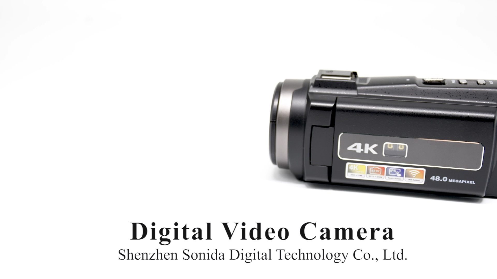 Cámara De vídeo Profesional 4K, videocámara Digital Ultra HD De 48MP