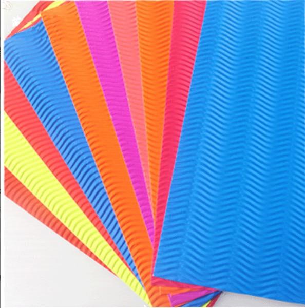 Цветная гофрированная бумага А4 10 листов для детского сада детская ручная бумага для моделирования материалы DIY художественная бумага волн...