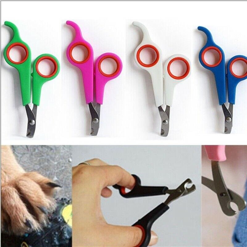 Cortauñas para mascotas, herramienta de corte para perro y gato, herramientas de limpieza de uñas, cortauñas