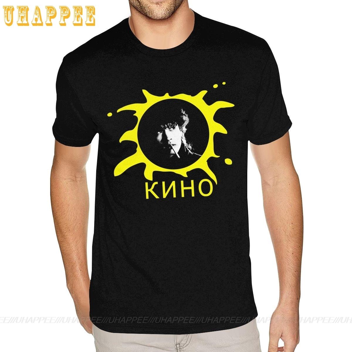 Russische Kino Band Konzert Tour Logo T Shirts Männlich 3D Print T Shirt Mann Kurzarm Günstige Marke Top Bekleidung