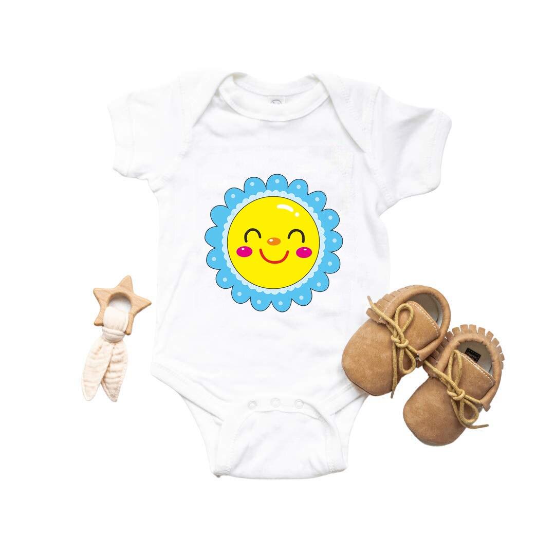 Фото - Newborn Baby Clothing for Girls Sunshine Baby Bodysuit Short Sleeve Boy for Baby Girl Baby Clothing Sets Baby Romper Clothes самокаты велосипеды ролики авто sunshine baby