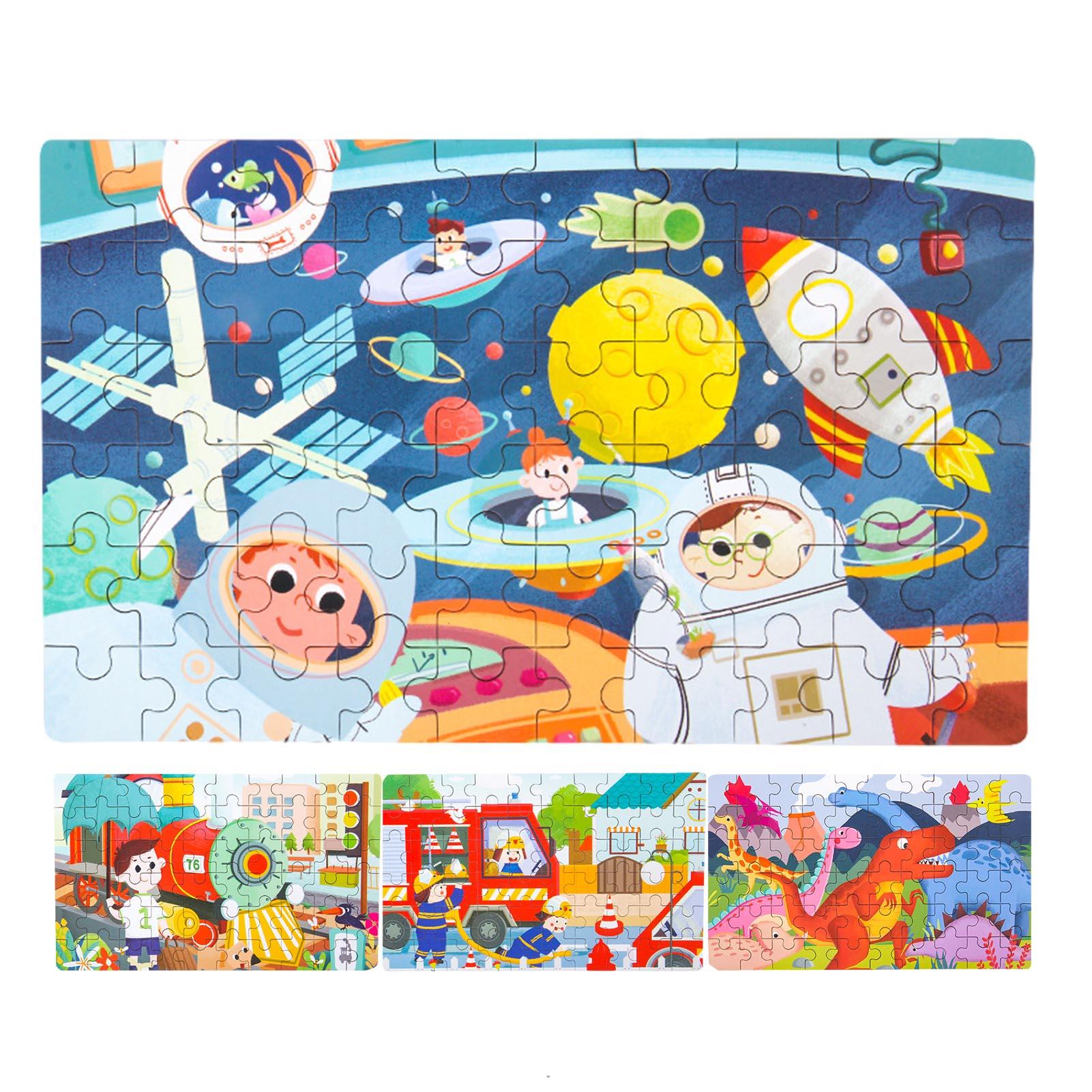 60 шт. пазл Танграм деревянный образовательных головоломки для обучения, сборный и обучения детей головоломки игрушки родитель-ребенок Инте...
