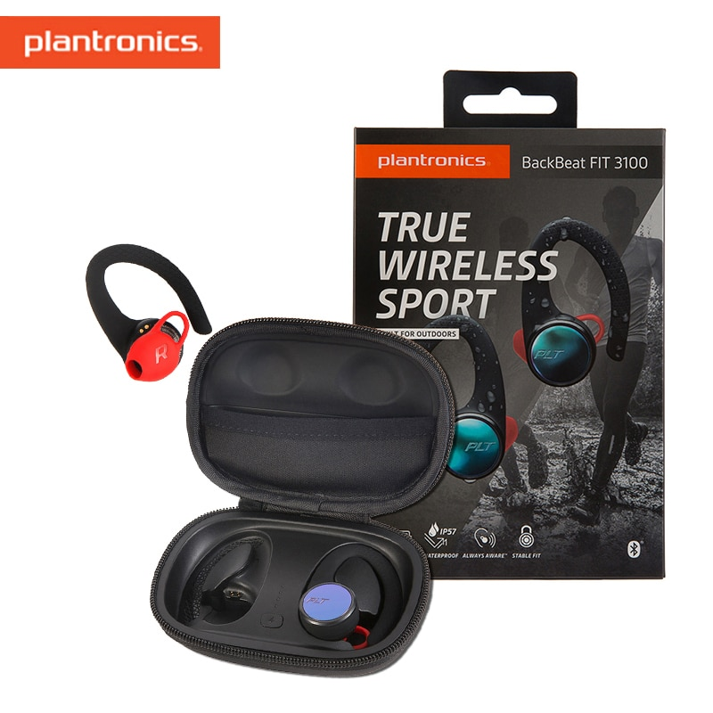 Fones de Ouvido Plantronics Backbeat Ajuste Ouvido Bluetooth Heasets Estéreo Oordopje Conforto-ajuste Inline Controls Vocht Resistants 3100 no