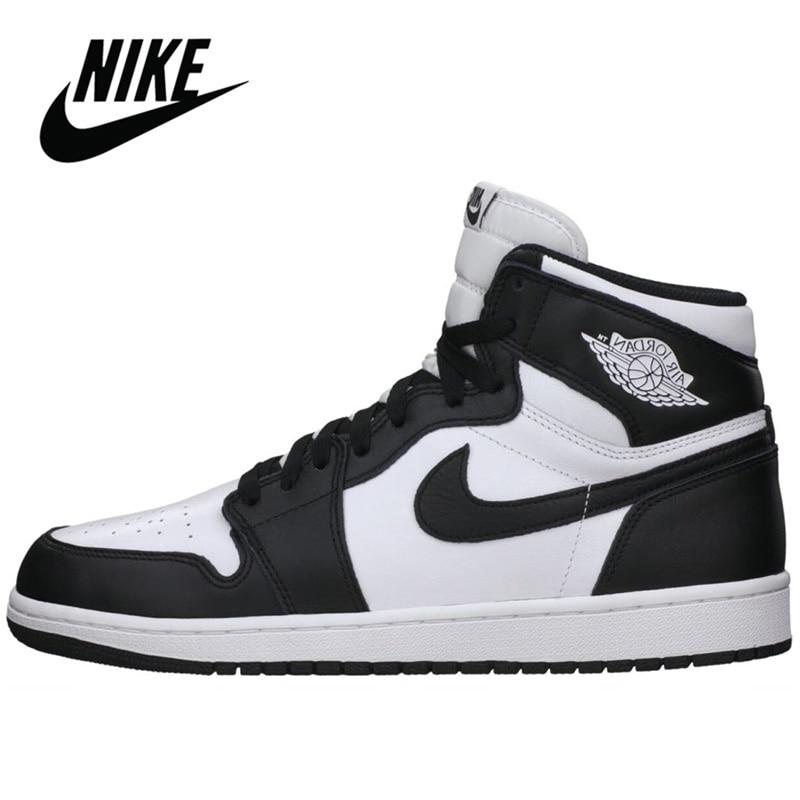 -Zapatillas Nike Air Jordan Retro 1 Baskerball para hombre y mujer, ligeras,...