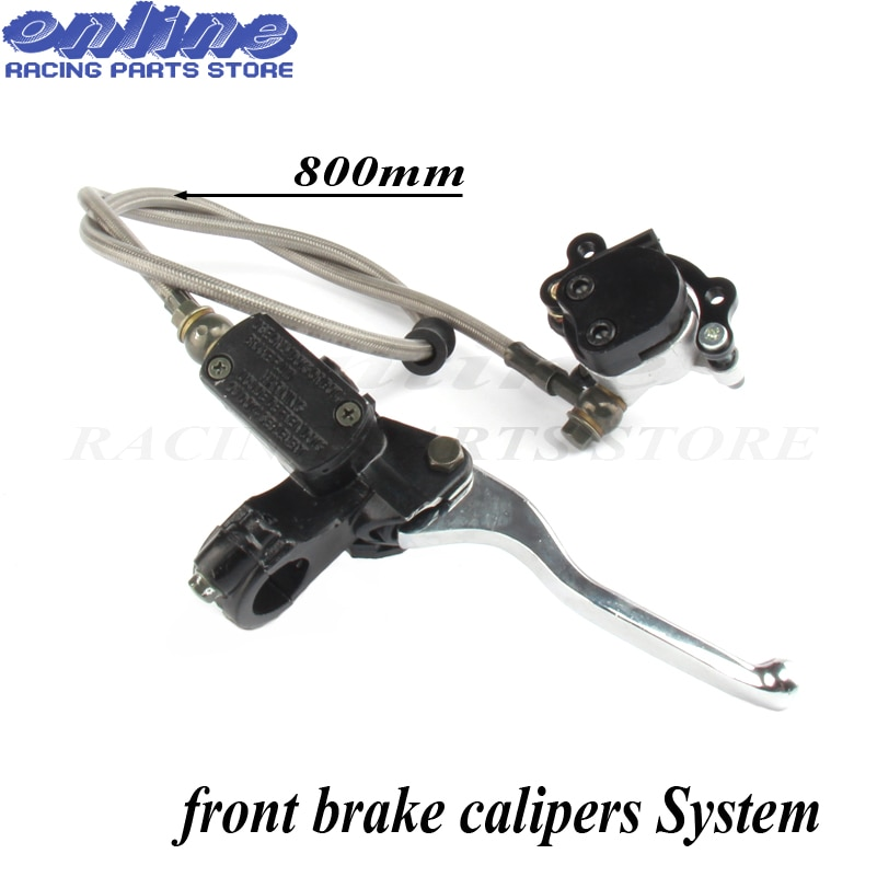 47cc 49cc front brake calipers System mini parts motorcycle water-cooling small sports car Modified hydraulic pump