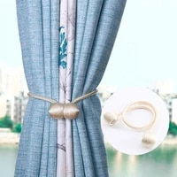 magnetic ball curtain tiebacks tie rope accessory rods accessoires backs holdbacks buckle clips hook holder home decor solid