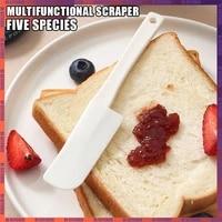 silicone scraper for bottle bottom scraper cake cream spatula mini size jam chocolate sauce spatula butter scraper with soft