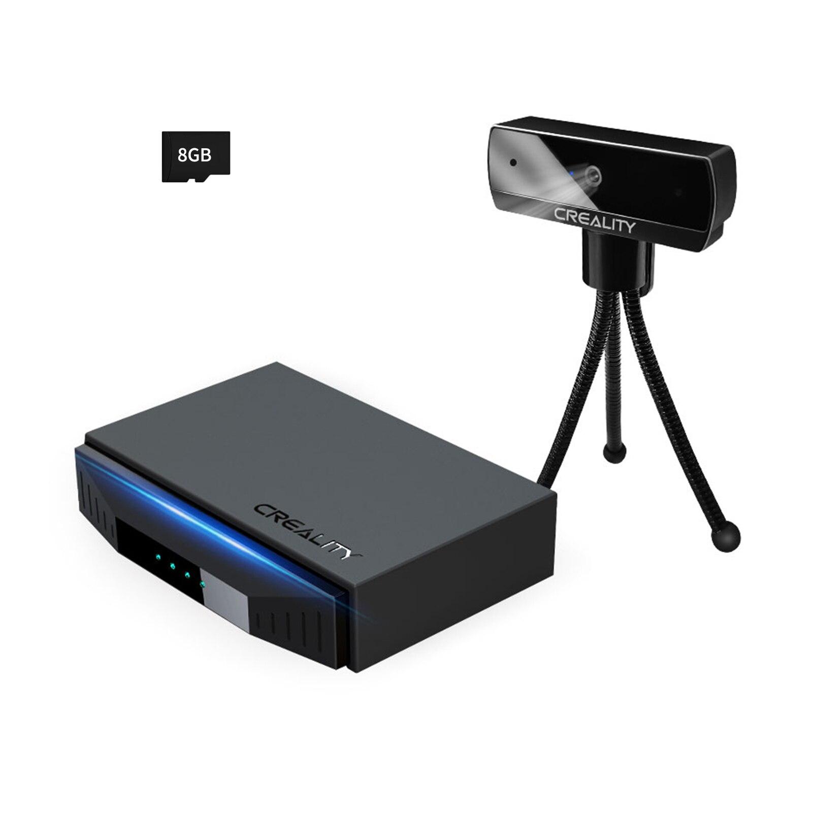 Creality 3D طابعة كاميرا كيت 8G TF بطاقة واي فاي مربع عن بعد ذكي مربع ل CR-10 Ender-3 CR-6 SE Ender-6 3d طابعة