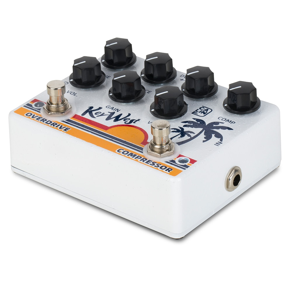 Caline Dcp-05 Key West Compressor Overdrive Effect Pedal Guitarra Dual Guitar Pedal Chorus Electric Guitar Acoustic enlarge