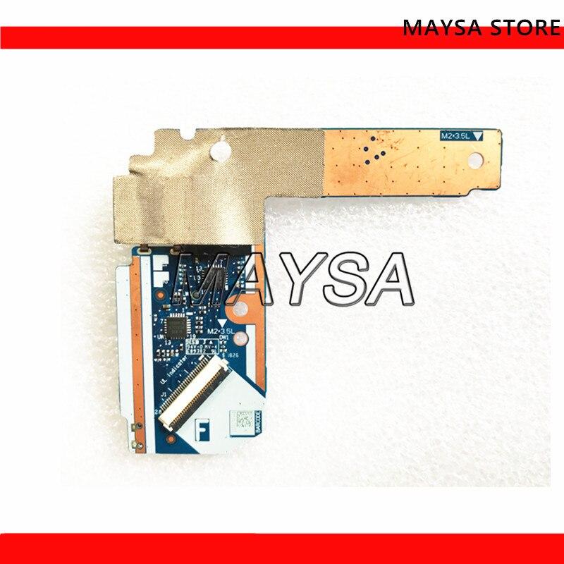 NS-B945 لينوفو الهواء 15IWL 530S-15 USB SD بطاقة قارئ التبديل الطاقة بوتون مجلس اختبار جيدة