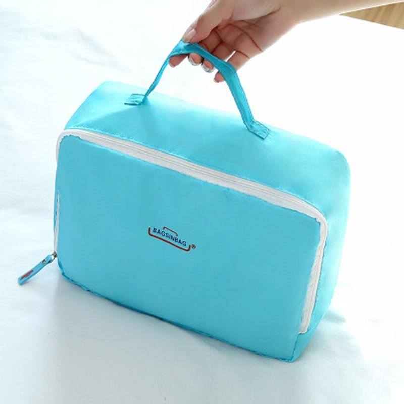 Hot Sale Travel Organizer Storage Bag Set Clothes Bags Pouch Suitcase Home Closet for 5PCS