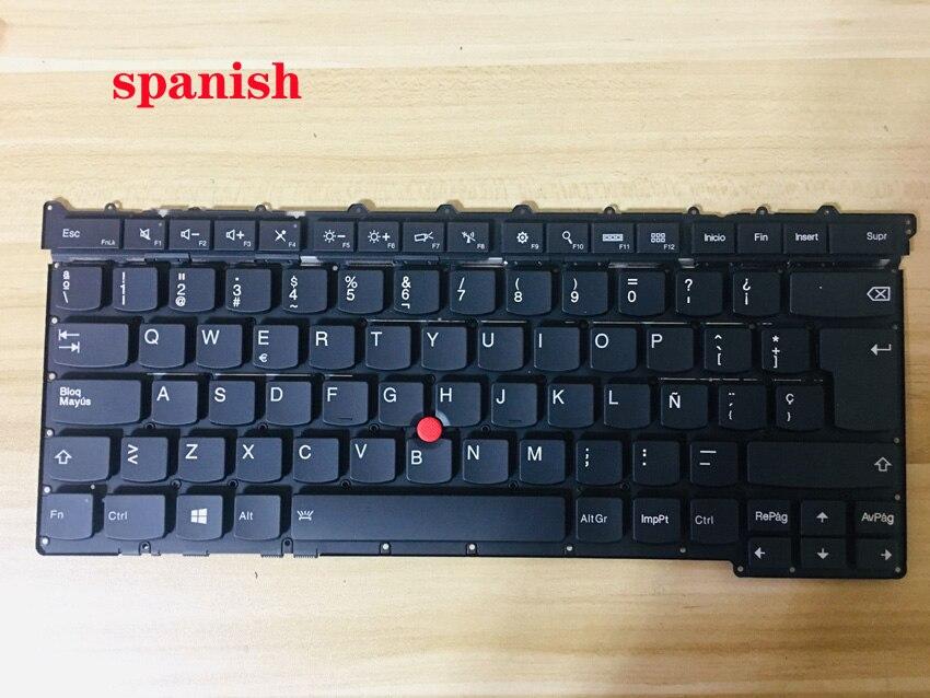 El mejor teclado para THINKPAD X1 carbono 2015 diseño francés/Latino español