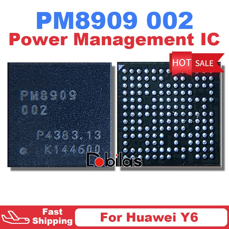 5Pcs/Lot PM8909 002 New BGA For Huawei Y6 Power IC Power Management Supply Chip Mobile Phone Integra