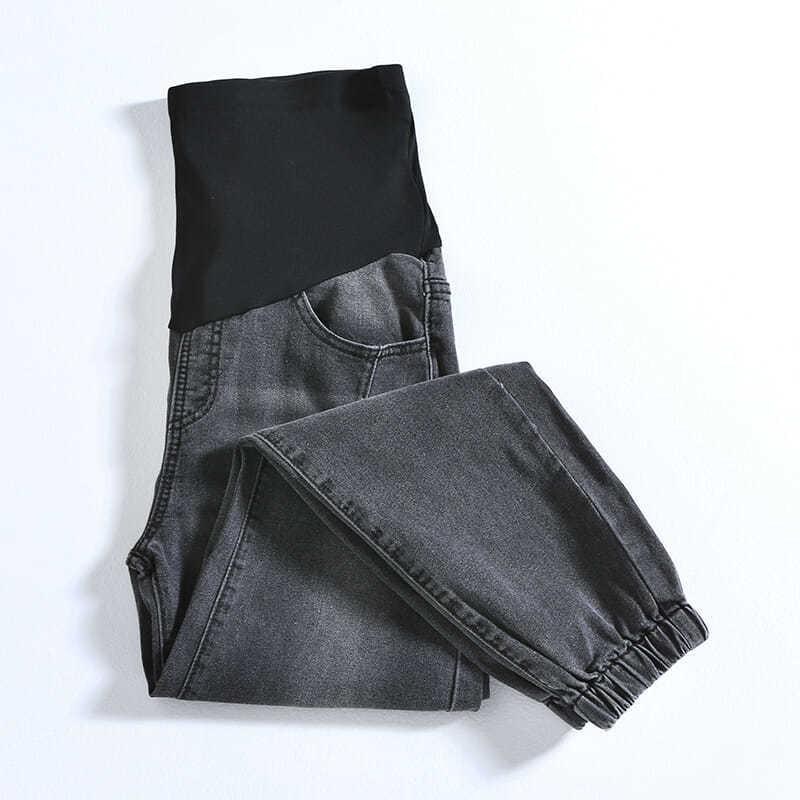 Брюки для беременных брюшные, джинсы-бойфренды, шаровары для беременных, Одежда для беременных женщин, брюки с высокой талией, свободные джи...