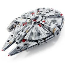 Star Toys Wars millénium 75257 Falcon 75212 Collection blocs de construction vaisseau spatial vaisseau spatial modèle briques à monter soi-même pour enfants jouets cadeau