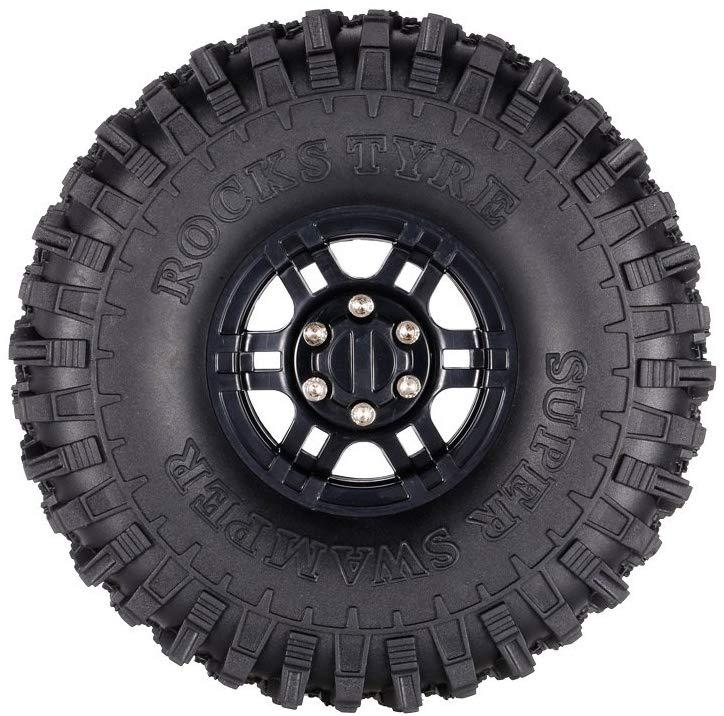 RCtown SCX10 II Wheel for 1/10 Traxxas Redcat SCX Axial rc4wd TF2 ROCK Crawler enlarge