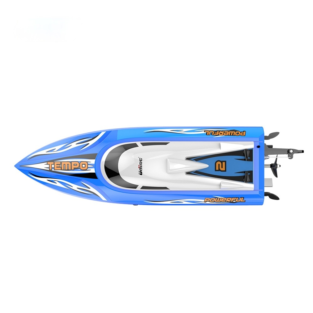 UDI902 Remote Control Boat Water-cooled Capsize One-button Reset Racing Double-layer Waterproof Yacht Toy RC enlarge