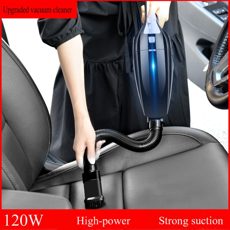 in addition to mites machine high power vacuum cleaner super sound off mini no supplies horizontal big suction Handheld Wired Vacuum Cleaner High Power Strong Suction Portable Cyclone Suction Car Vacuum Cleaner Wet/Dry Auto For Car