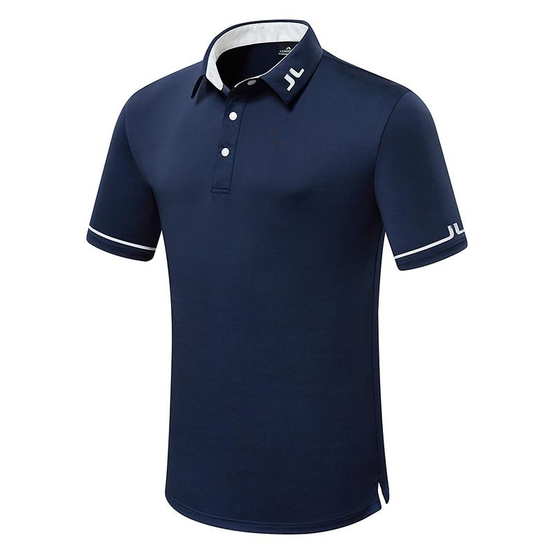 صيف جديد الرجال قصيرة الأكمام جولف تي شيرت تنفس JL الملابس الرياضية في الهواء الطلق الترفيه الرياضة قميص جولف S-XXL في الاختيار الحرة