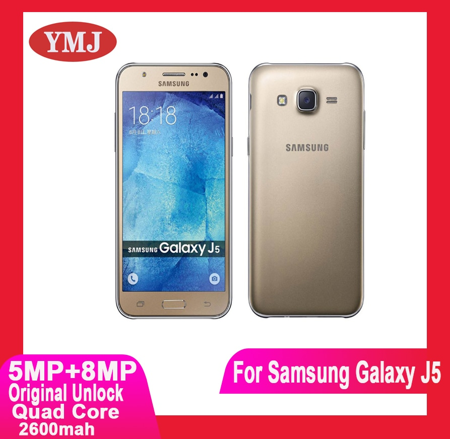 Samsung Galaxy J5 J500F Original desbloquear teléfono celular 5,0