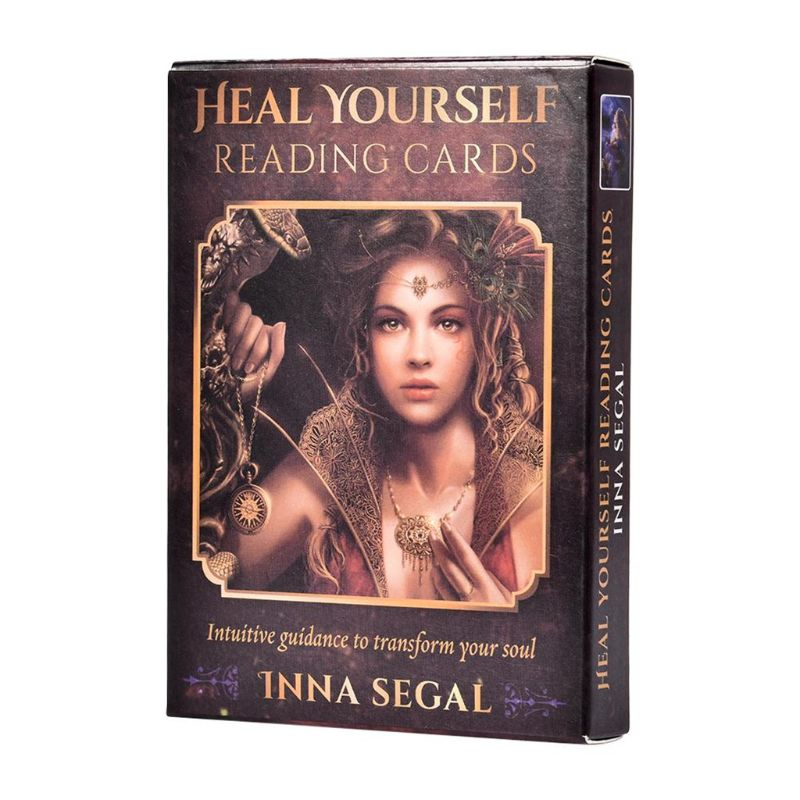 Heal Yourself tarjetas para leer guía intuitiva para transformar tu alma 36 cartas juego de mesa de Tarot oráculo naipe