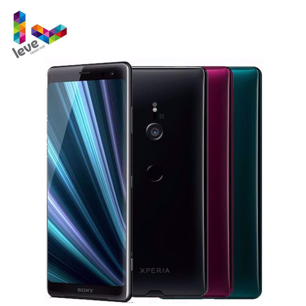 Разблокированный глобальная версия Sony Xperia XZ3 H8416 1SIM мобильный телефон 6,0 дюйм 4 Гб RAM, 64GBROM Octa Core 19MP NFC 4 аппарат не привязан к оператору сотовой связ...