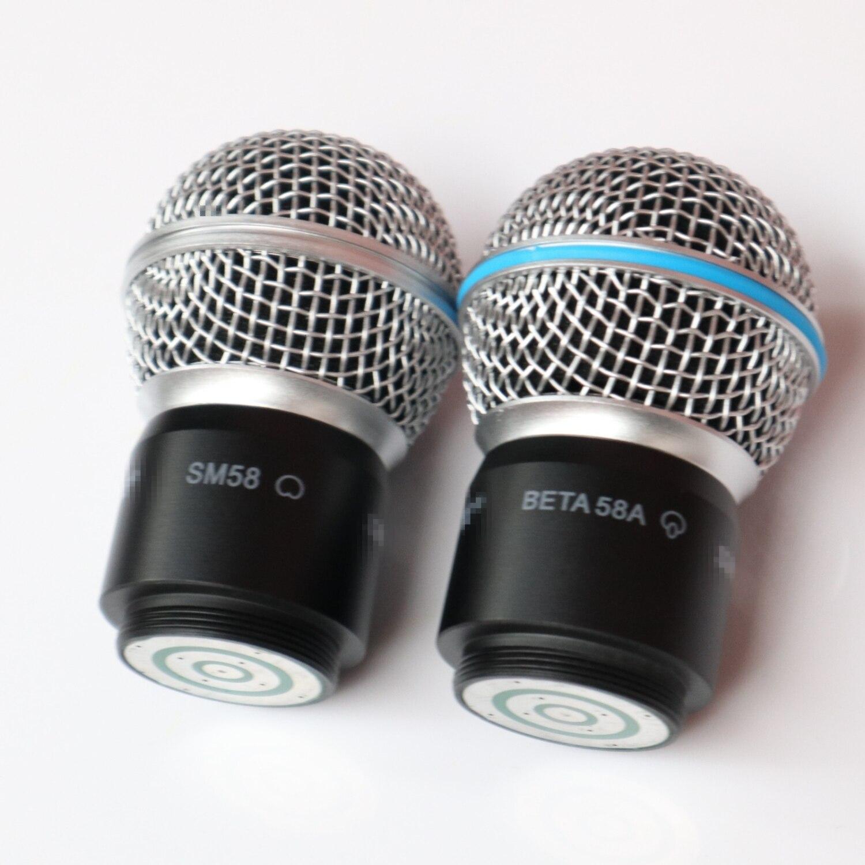 ميكروفون رئيس ل شور SM58 SM58S SM58LC BETA58 BETA58A بيتا PGX24 SLX24 ميكروفون لاسلكي