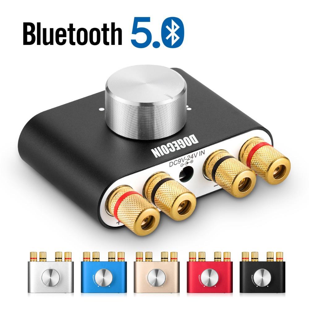 Amplificadores de Som 5.0 de Alta Mini Bluetooth Fidelidade Amplificador Digital Áudio Estéreo 2.0 Canais 100w Power Amp Tpa3116