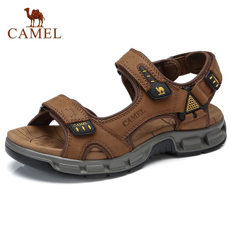 CAMEL/летние модные мужские повседневные сандалии; Эластичные легкие пляжные мужские сандалии; Мужская обувь; Декомпрессионная мужская обувь...