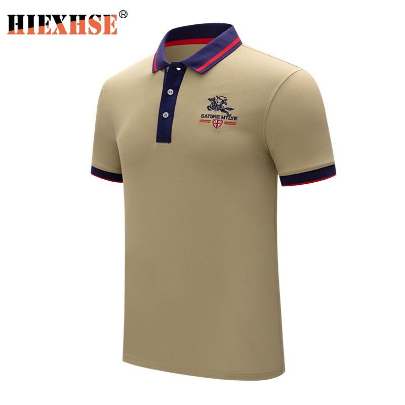 Polo Men 2021 New Arrival Summer Casual Brand High Quality Soild Cotton Shirt Mens Short Sleeve Shirts Business Cloth