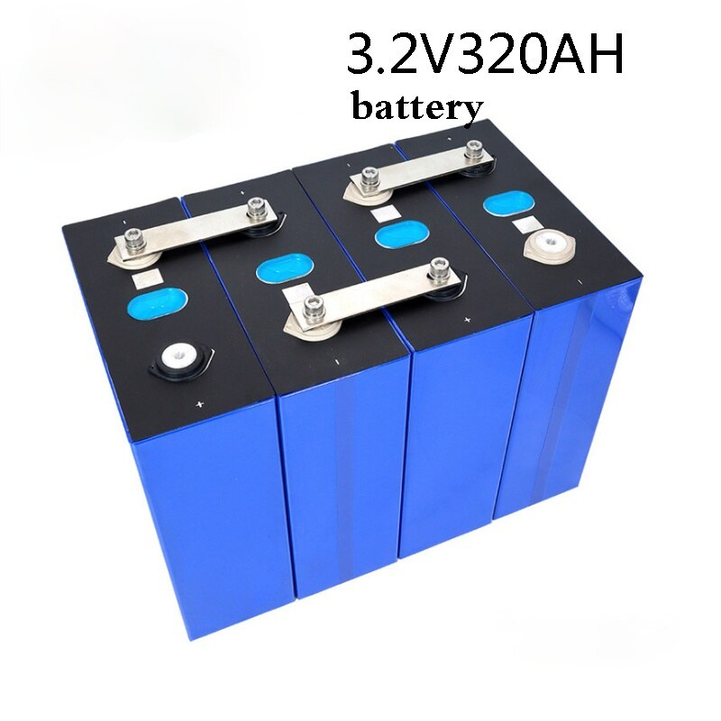 4-16 قطعة 100% جديد Lifepo4 320Ah 3.2 فولت الصف أ 48 فولت 310AH بطارية حزمة لتقوم بها بنفسك RV خلية و نظام تخزين الطاقة الشمسية الاتحاد الأوروبي الولايات المت...