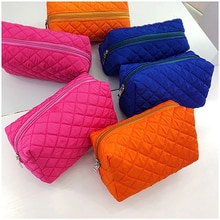 Women Makeup Bag Nylon Portable Organizer Storage Purse Fashion Toiletry Case Pouch Waterproof Trave