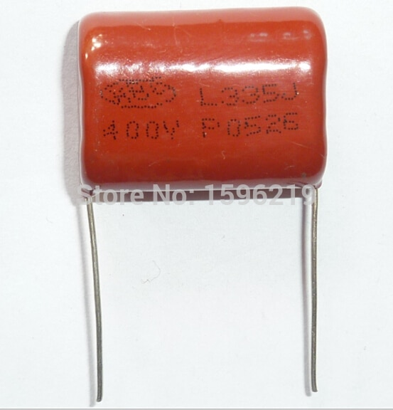 10 stücke CBB kondensator 335 400V 335J 3,3 uF 3300nF P26 CBB21 Metallisierten Film Kondensator