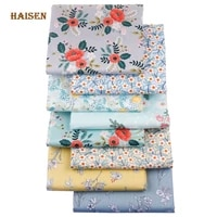 floral series printed twill fabric home textile cloth for diy sewing babychild quilting bedsheet clothing dress skirt material