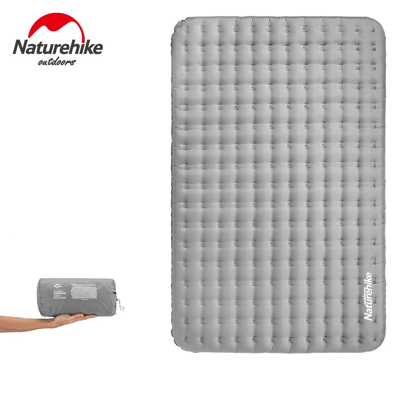 Naturehike Inflatable Sleeping Pad Wear Resistant Waterproof Double Person Air Mattress For Outdoor Camping Hiking 13cmThickness