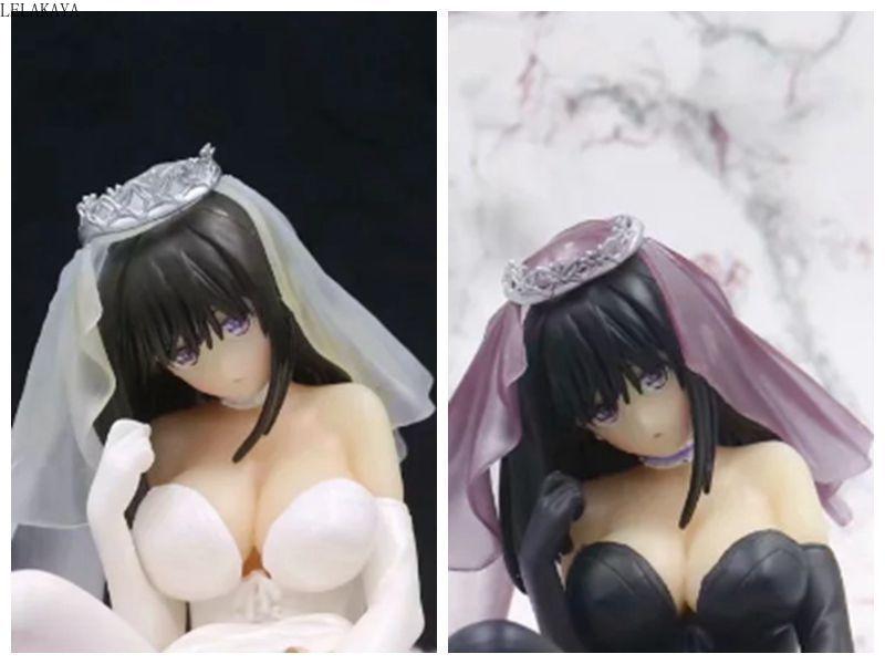 18cm Anime Skytube jeu faute Sexy fille personnage Saeki Ai mariage Ver. Modèle de figurine daction en PVC à léchelle 1/6 jouets poupée Brinquedos