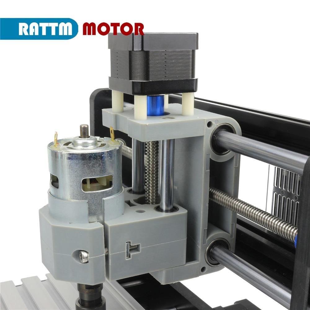 【US】CNC mini engraving router Laser machine 1610 Pro with ER11 Collet + off-line controller enlarge