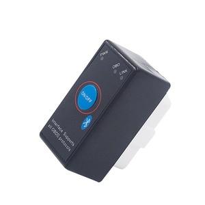 Image 3 - Супер Мини ELM327 Bluetooth ELM 327 выключатель питания V2.1 Кнопка ВКЛ/ВЫКЛ OBD2 автомобильный диагностический инструмент Многоязычный для протоколов OBDII