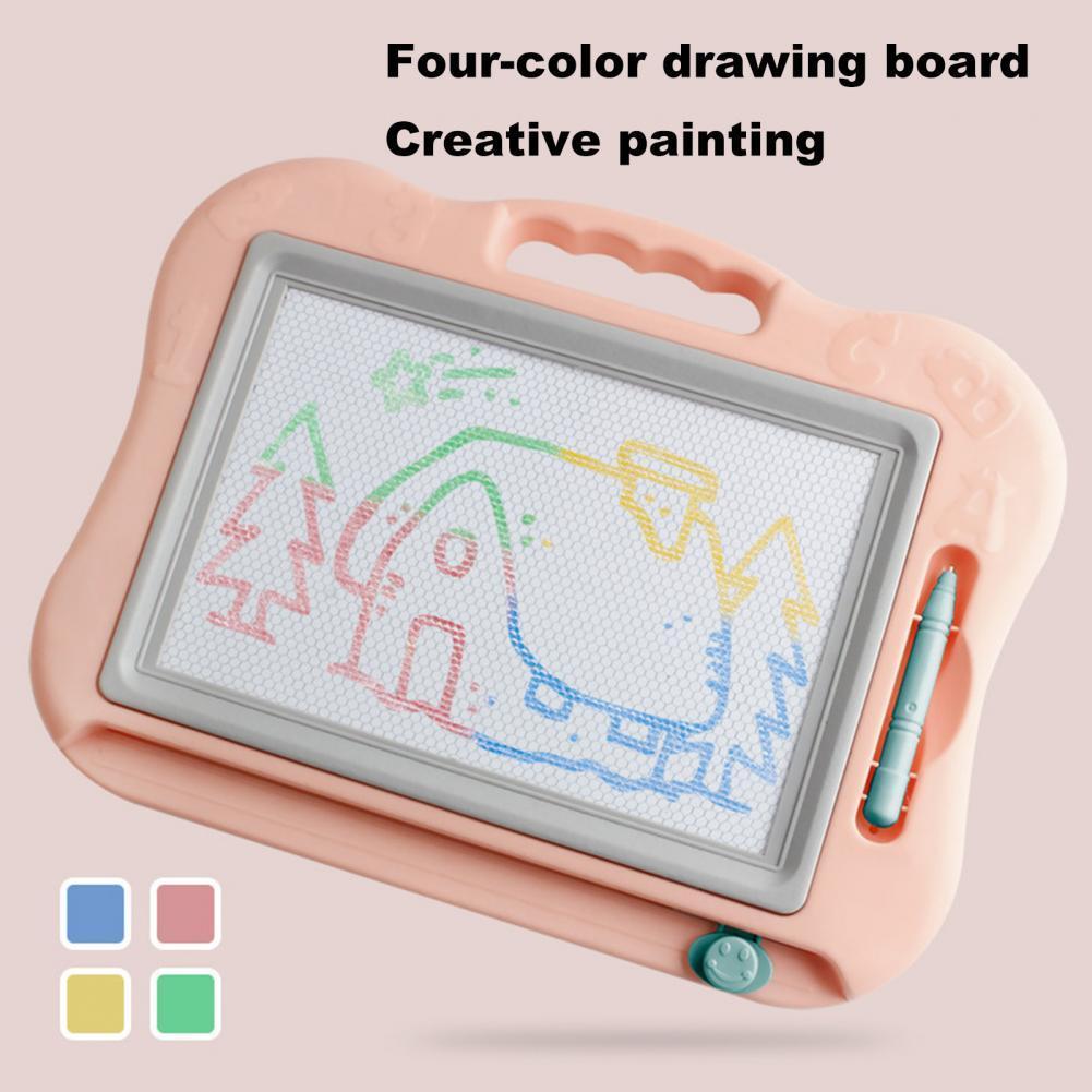 Универсальная симпатичная магнитная доска для рисования, пазл с гладкими краями, обучающий инструмент для рисования, доска для рисования с...