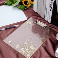 diy folder artboard mirror silicone mold jewelry fillings pendant accessory charms handmade epoxy resin stationery mould craft