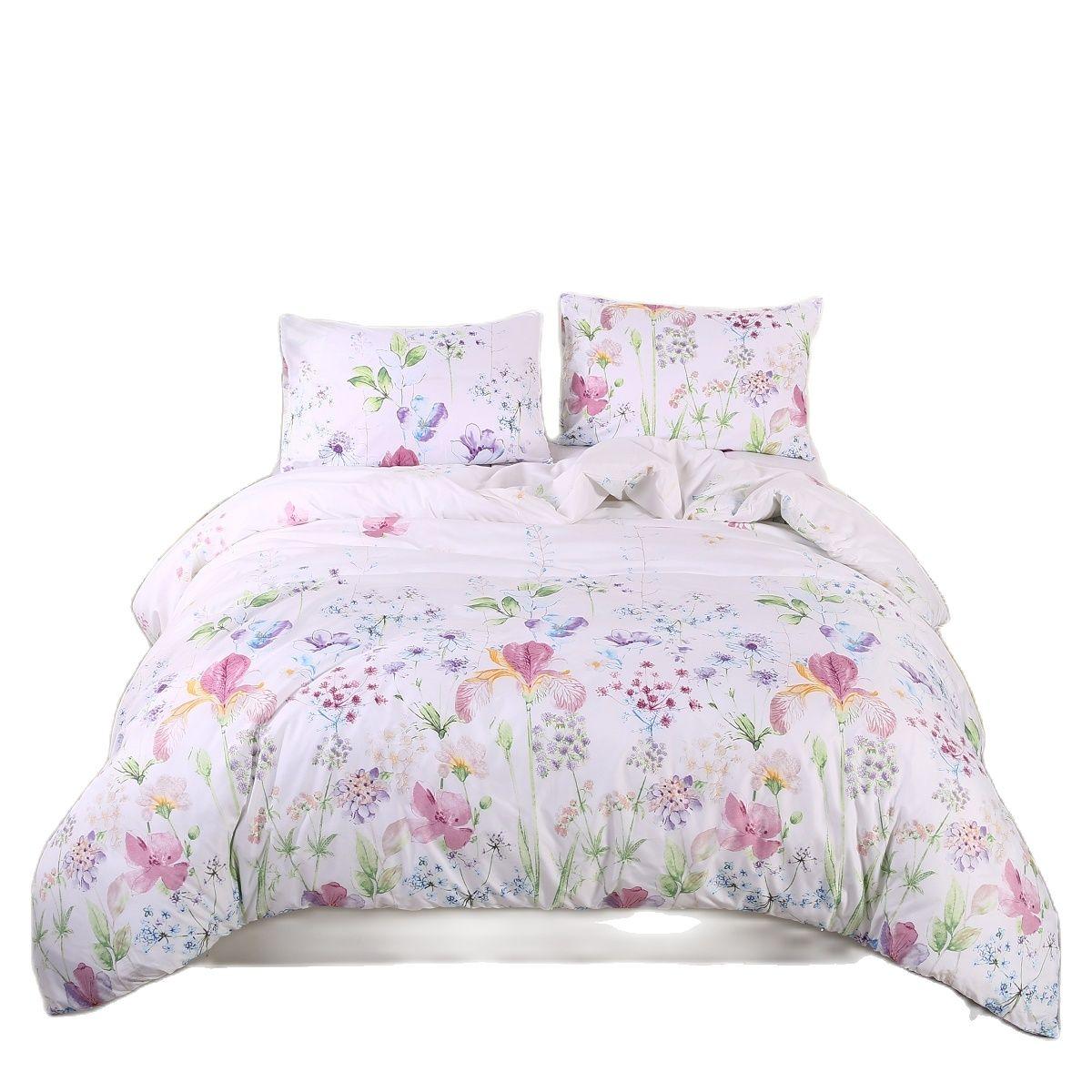 2 3 stücke feder Bettwäsche Set Klassische Moderne Bettbezug Und Kissenbezug Concise Stil Bettwäsche Set Textil Bett Set Keine blätter