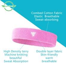 2 Fitness Sports Elastic Headband Sweatbands Sweat-Absorbent Breathable Turban Non-Slip Multi-Color Optional Cute Free Shipping