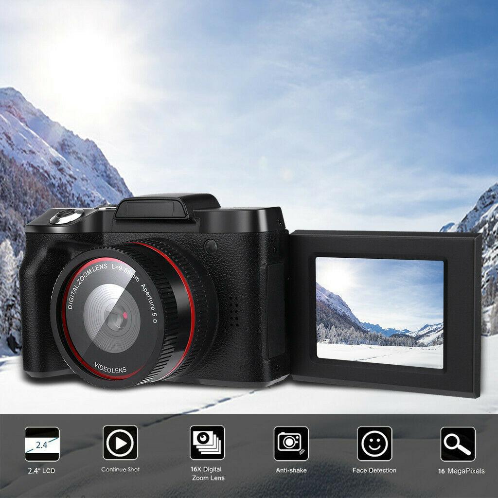 XJ06 HD Flip Screen Self-timer Digital Camera LCD LCD Screen Camera Support 32 Gb SD Card/HCSD Card