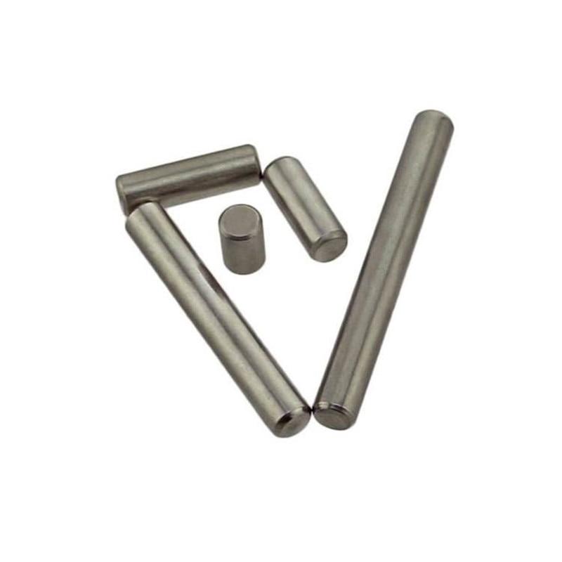 D6 * 8-90 دبابيس متوازية تحديد دبوس المسامير الأسطوانية 304 الفولاذ المقاوم للصدأ عالية الدقة أسطواني دبوس وتد DIN EN ISO2338