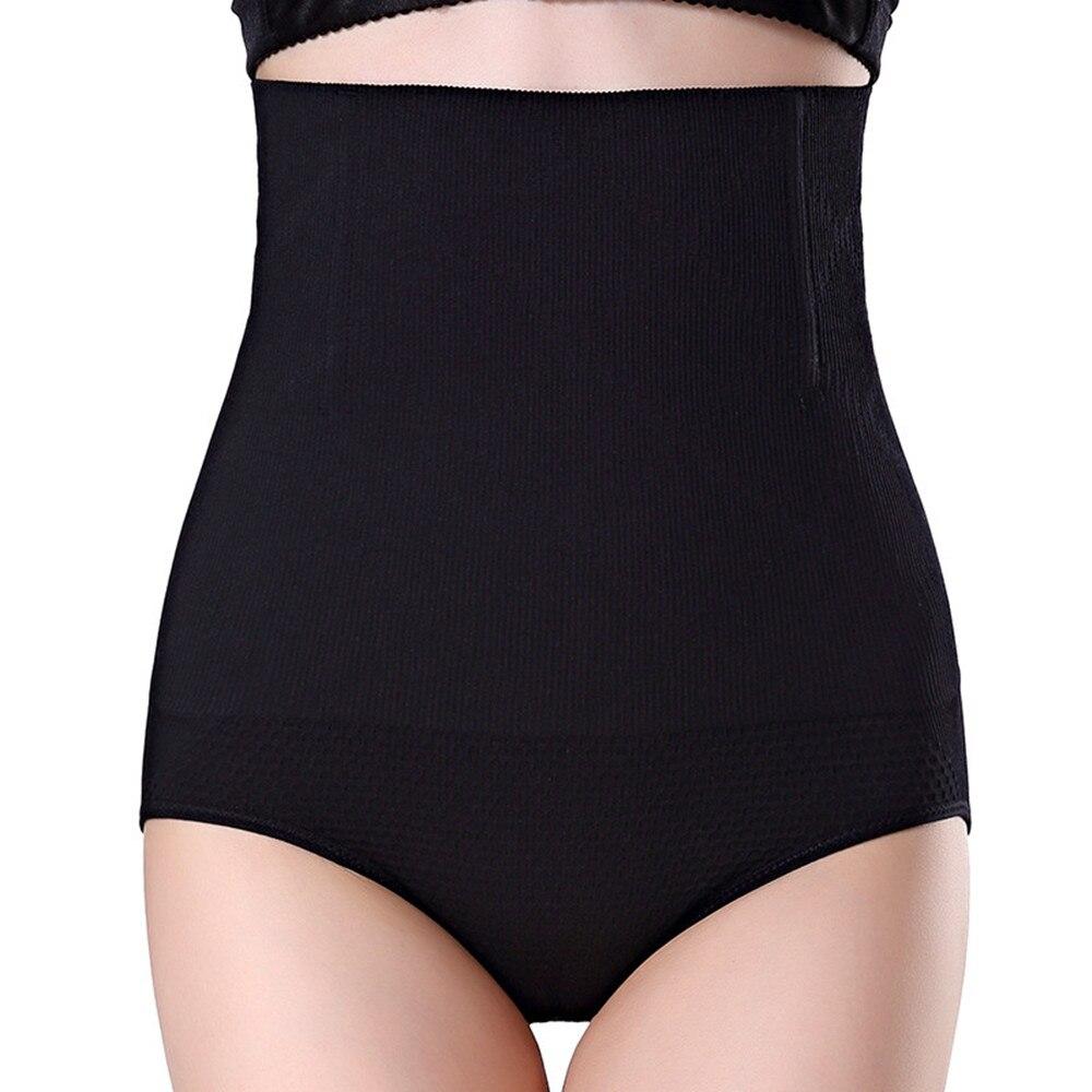 Cintura alta calcinha shapers sem costura emagrecimento barriga elevador nádegas bodysuit underwear estômago liso para mulher shapewear