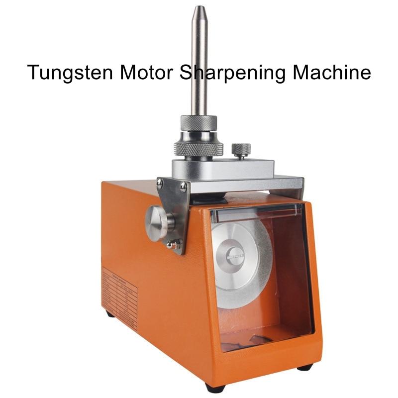 Wide angle tungsten needle sharpening machine 60W portable semi-automatic argon arc welding tungsten electrode grinding machine