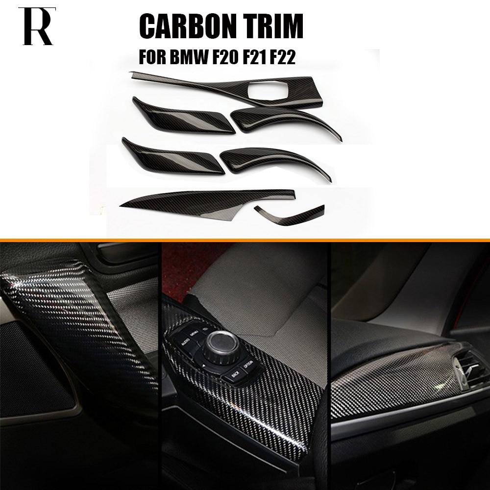 الكربون الألياف الداخلية لوحة قوالب ديكور تقليم ل BMW F20 F21 118 120 135 140 12-18 F22 218 220 235 240 14-20