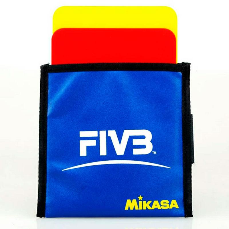 Оригинальная японская волейбольная карточка Mikasa, красная, желтая карта FIVB, волейбольная Лига, специальное оборудование для судьи